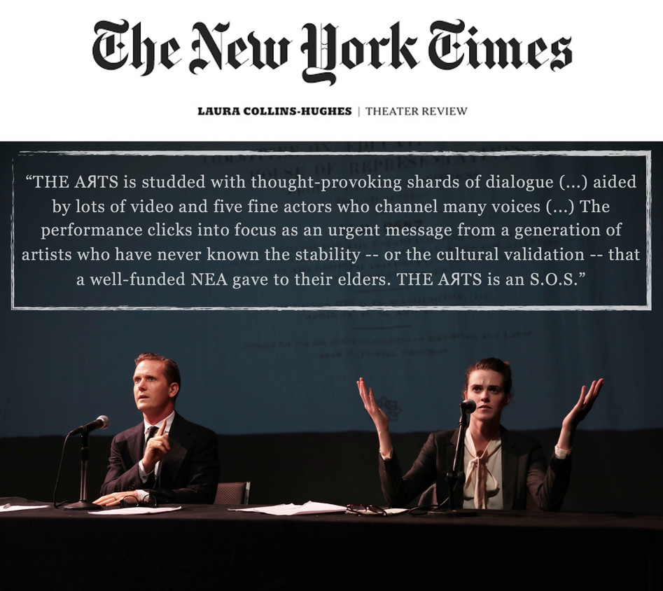 """""""THE AЯTS"""" (review) - THE NEW YORK TIMES"""