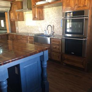 Kitchen -Double Oven & Stove