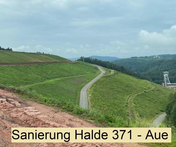 Sanierung Halde 371 - Wismut