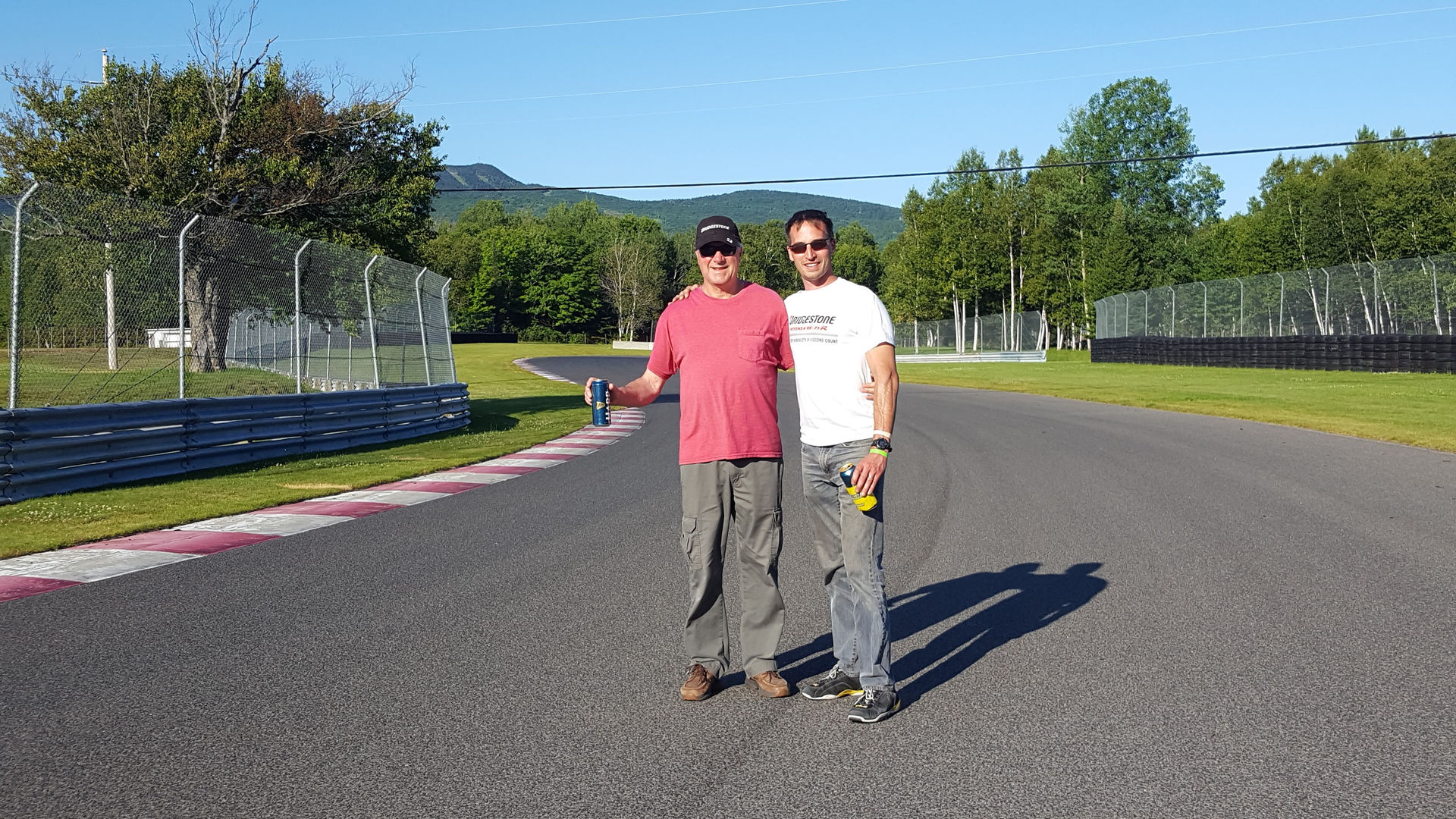 Brian and his Dad, Mnt. Tremblant Canada