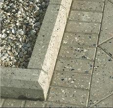 terrazzo curbing