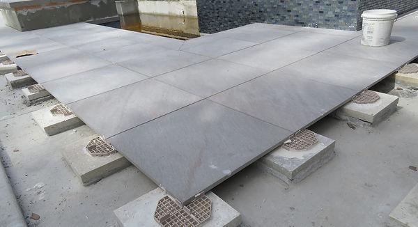 terrazzo roof top pavers