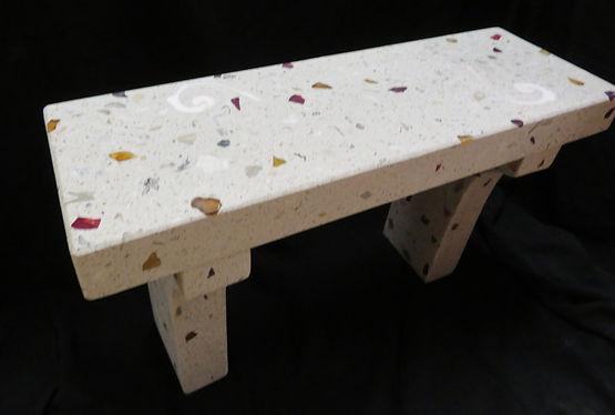 terrazzo benches