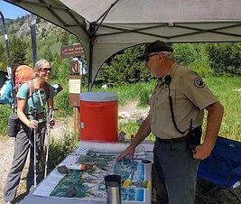 Trail Head Host 2017 Volunteer Danny Smi