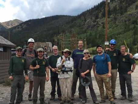 South Boulder Creek Trail Work