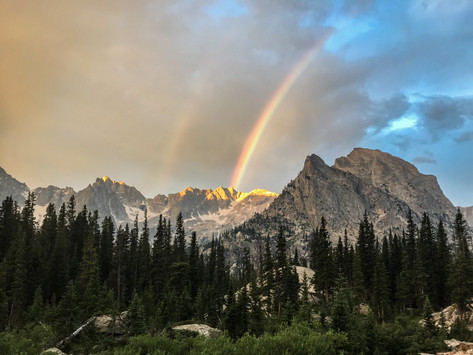 Morning Rainbows by Joshua Miers