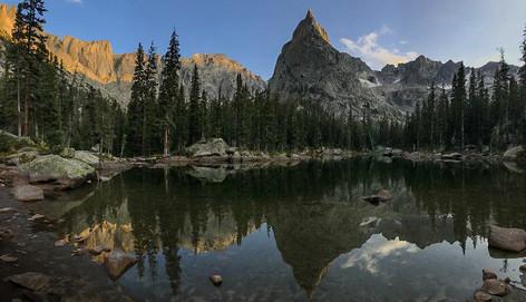 Lake Reflection by Tom Julian