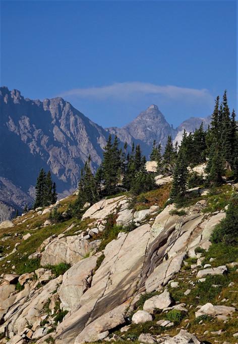 Mountain Peaks by Jim Scott