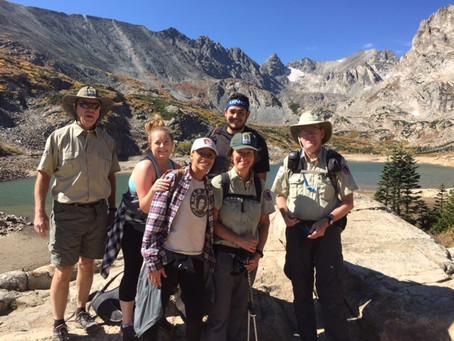 Teach the Teachers Hike at BLRA