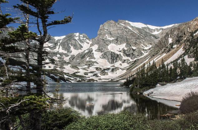 Lake Snow by Jessica Ansari