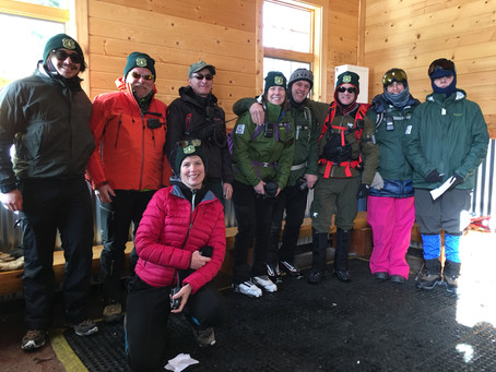 Winter Patrol Season Volunteers