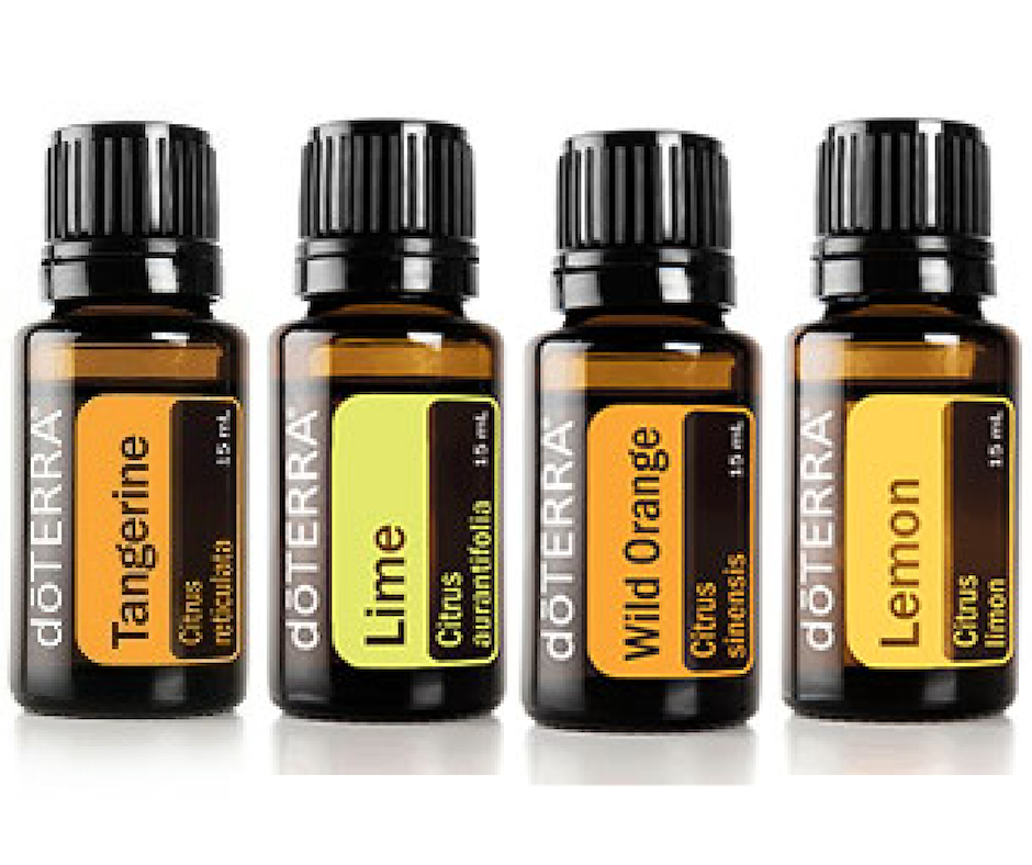 tangerine, lime, wild orange & lemon flavoured oils