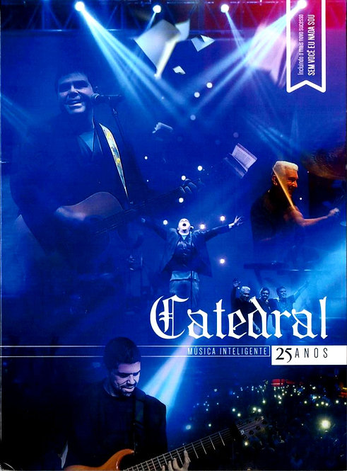 DVD Catedral 25 Anos