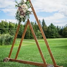 Arche triangulaire bois
