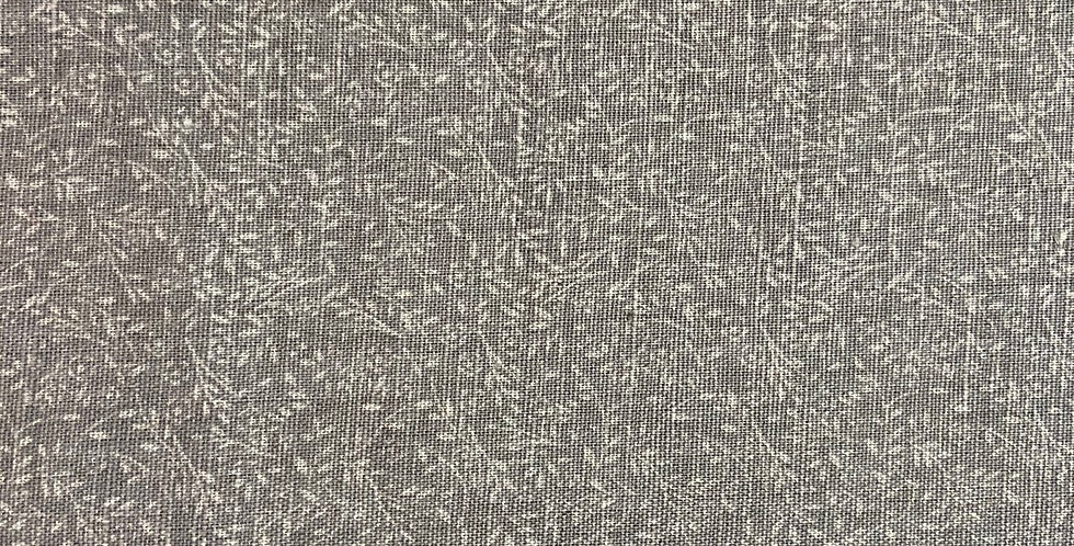 Lino Hojas - Gray Collection