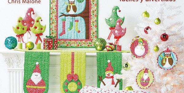 Labores creativas Patchwork Navidad