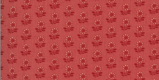 La Rose Rouge VI - Moda Fabric