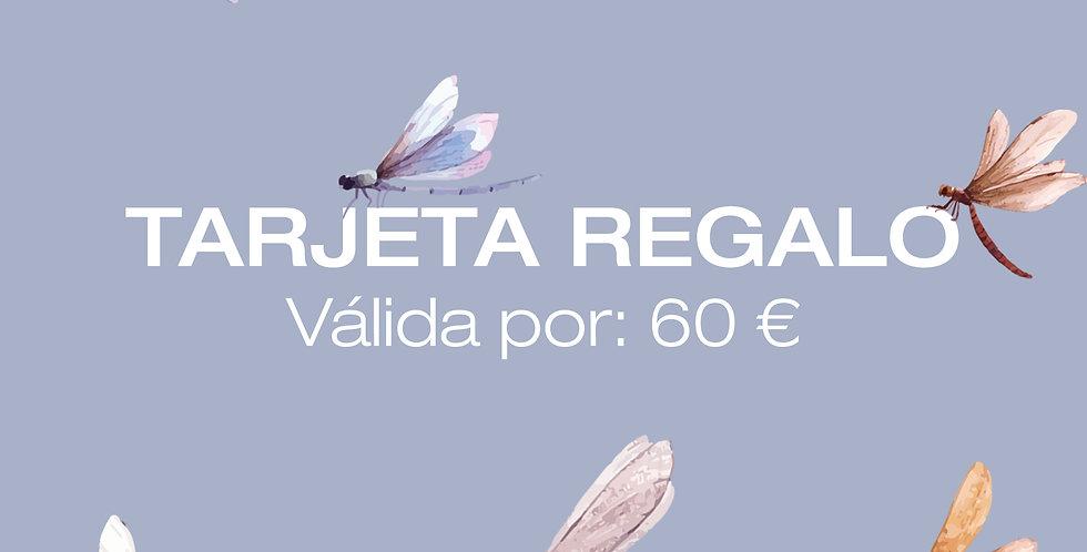 Tarjeta Digital Regalo 60€