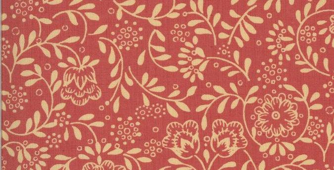 La Rose Rouge IV - Moda Fabric