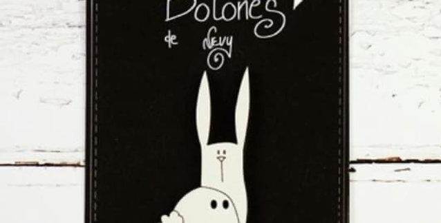 Botón Conejo - El altillo de los duendes