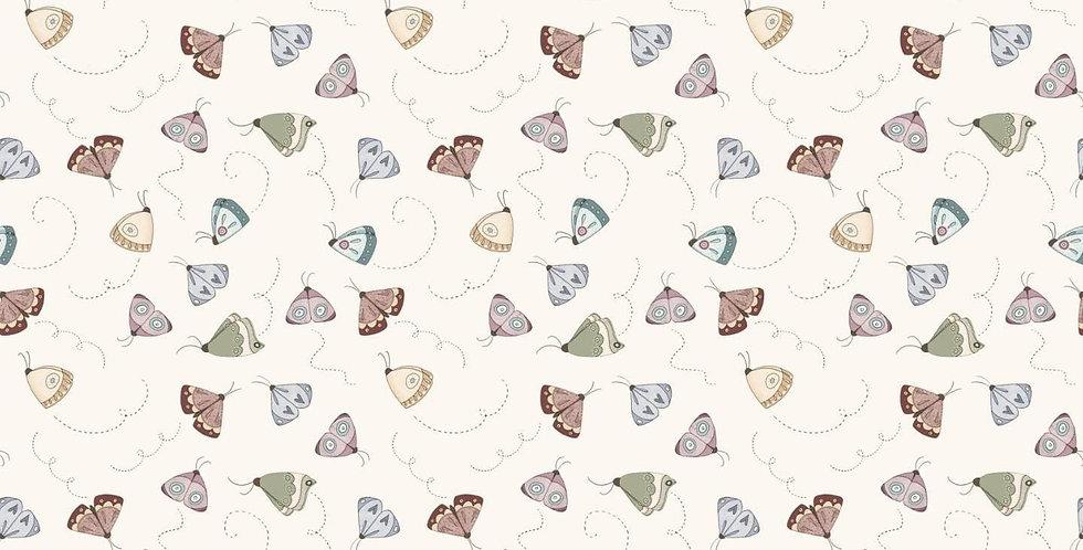 Tela Mariposas - Un dia de picnic - El altillo de los duendes