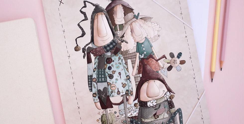 Carpeta Duendes y Hadas A4