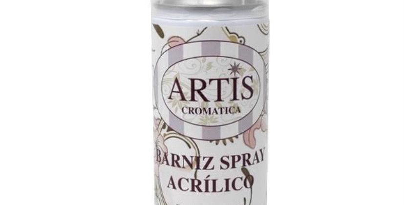 Barniz Spray Acrilico Efecto Satinado