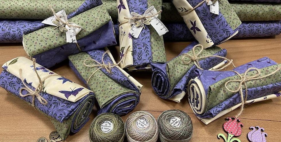 Pack Violet Hill - Moda Fabrics - 10