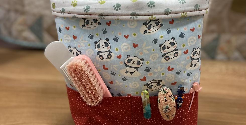 Kit Cesto multiusos - Osos Panda