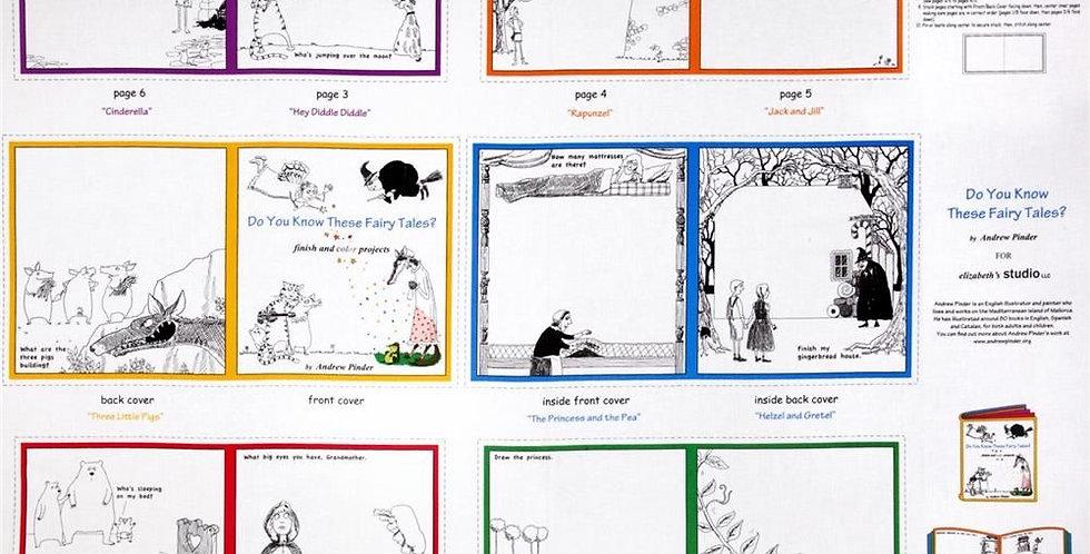 Panel Libro Infantil - Fairy Tales