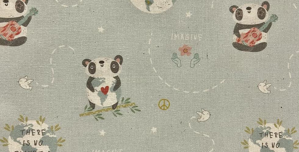 Tela Colección Imagine - Oso Panda
