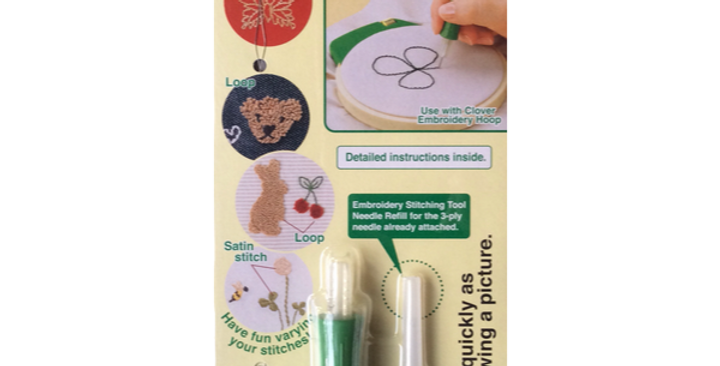 Aguja Punch Needle Clover