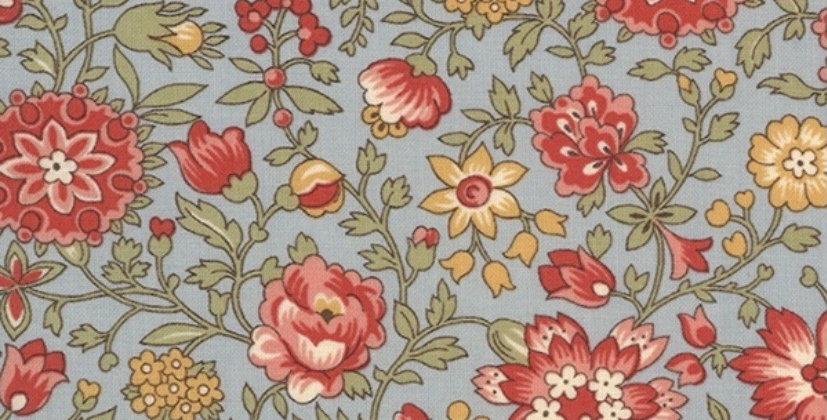 Tela Jardin de Fleurs V - Moda Fabric