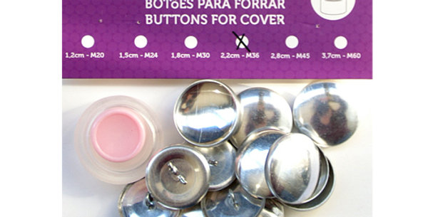 Botones para forrar Con Molde