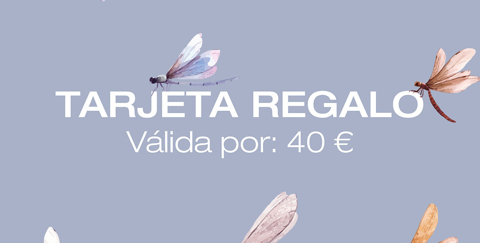 Tarjeta Digital Regalo 40€