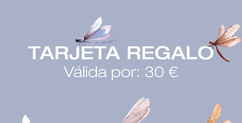 Tarjeta Digital Regalo 30€