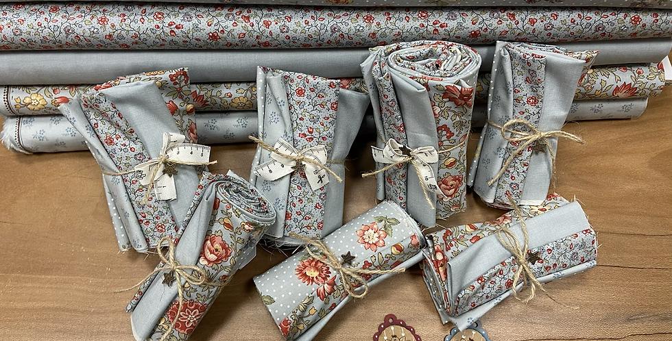 Pack Jardin de fleurs - Moda Fabrics - 50