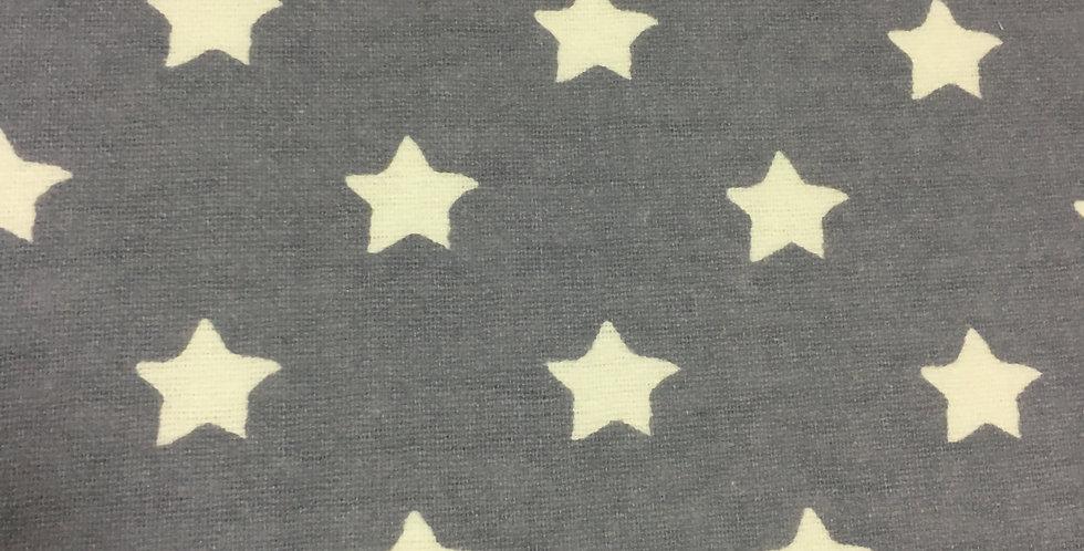 Franela Estrellas Gris Azulado