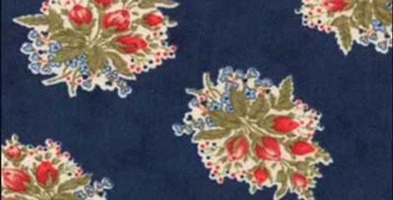 American Banner Rose - Moda Fabric