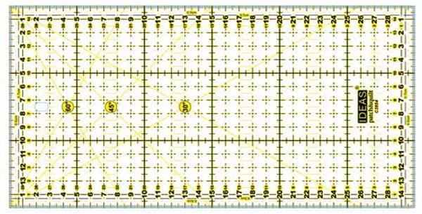 Regla rectangular 15x30cm