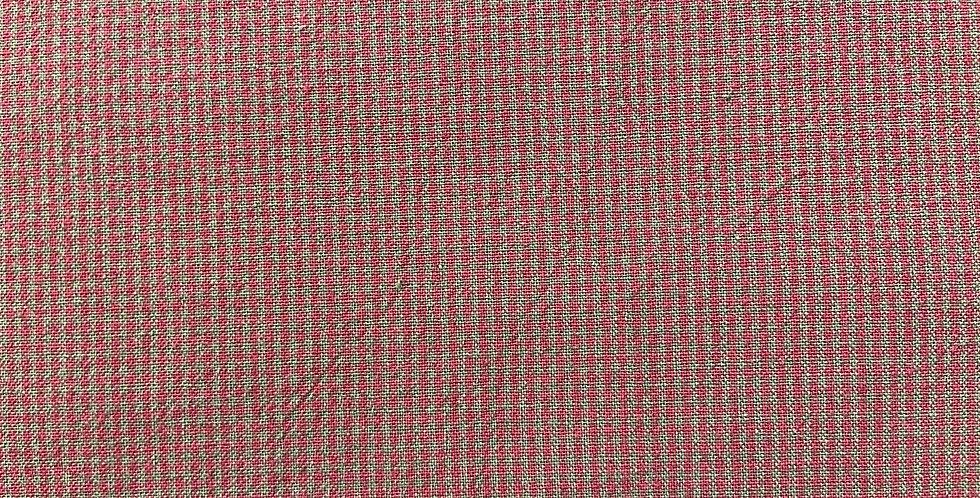 Cuadrito rojo pequeño con marrón
