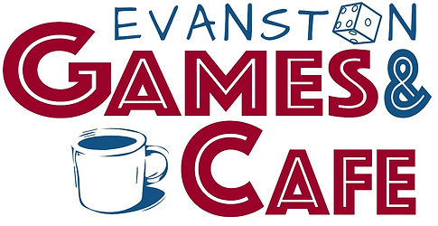 Evanston Games & Cafe logo