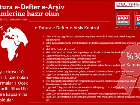 Logo e-Fatura | e-Defter | e-Arşiv | Kontrol