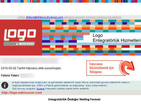 Logo e-Fatura | e-Arşiv Mailing Hizmeti