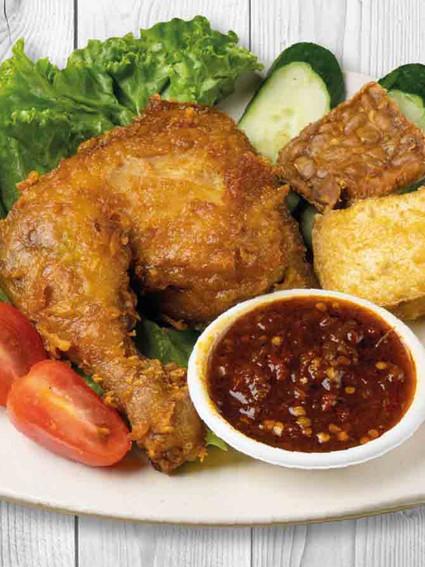 Chicken Penyet Drumstick