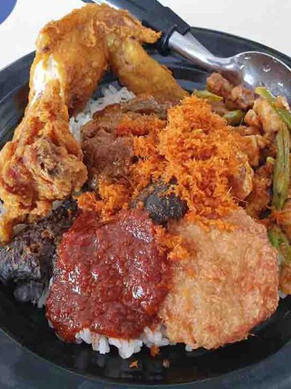 Nasi Sambal Goreng Set F