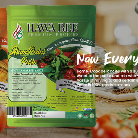 Hawa Bee Premium Pastes