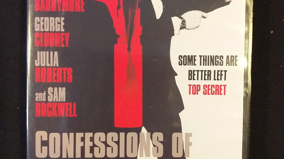 """dvd """"Confessions of a dangerous mind"""""""
