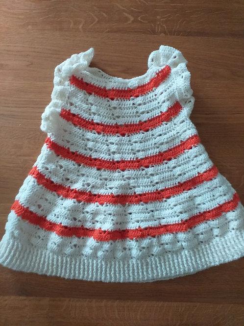jurk streepjes