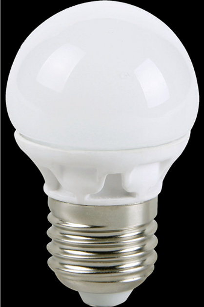ledlamp miniglobe 4w-E27-2700k-320L ECOSAVERS